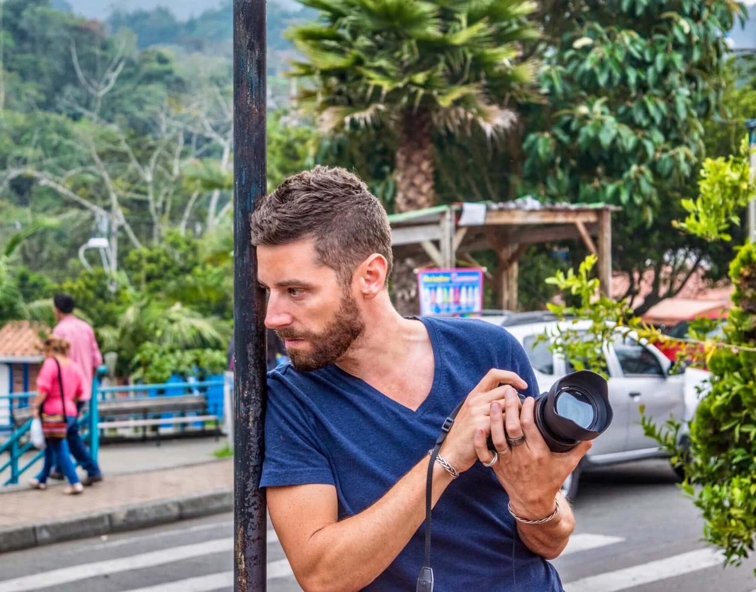 Shooting Photos near Santa Elena, Colombia