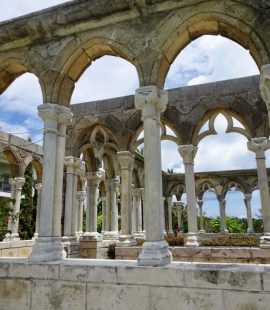 The Cloister & Versailles Gardens on Paradise Island in Nassau Bahamas