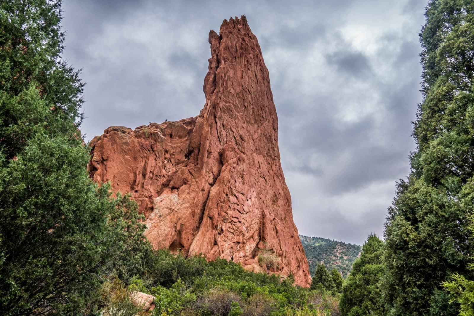 Garden of the Gods in Colorado