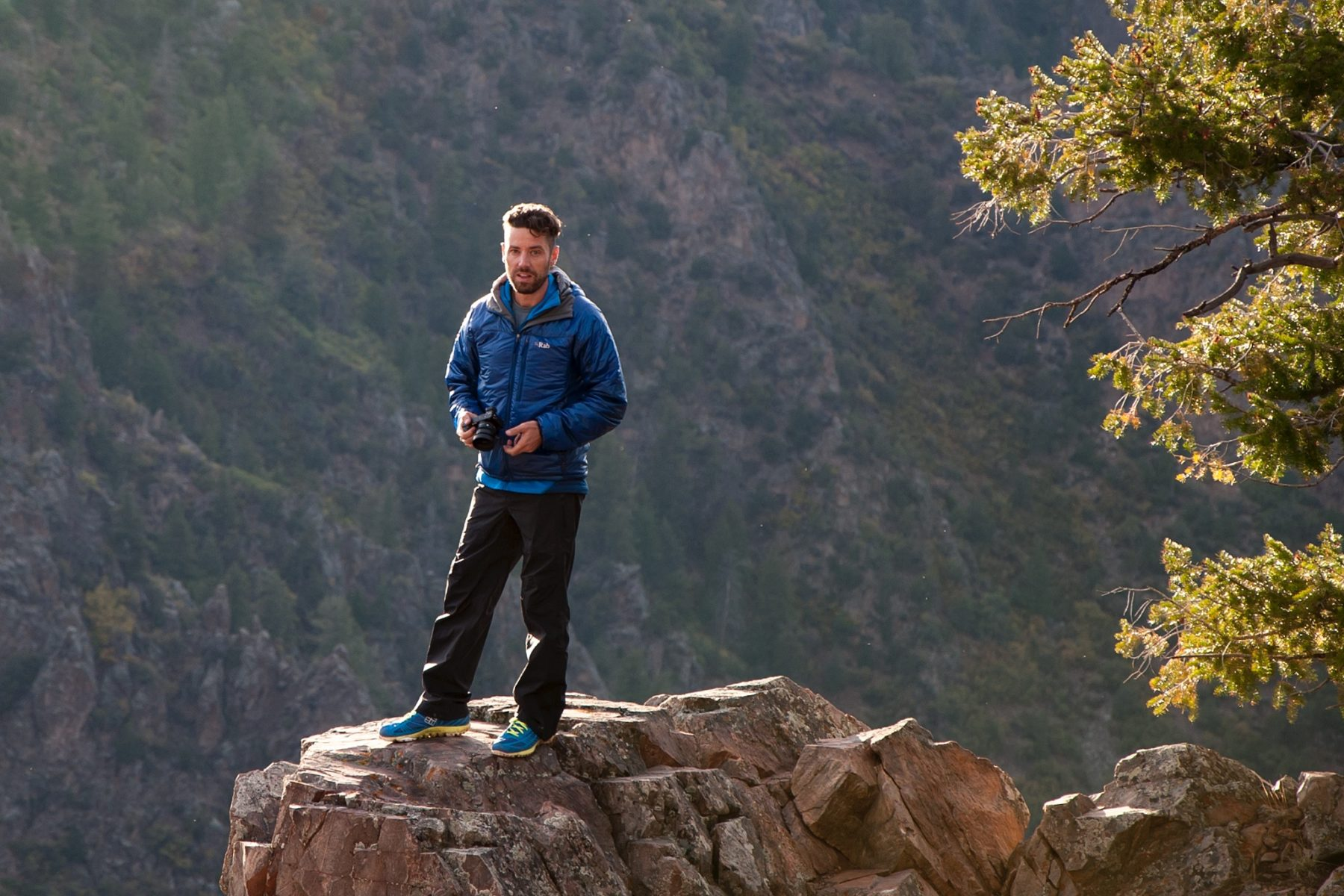 Stavros in Black Canyon National Park