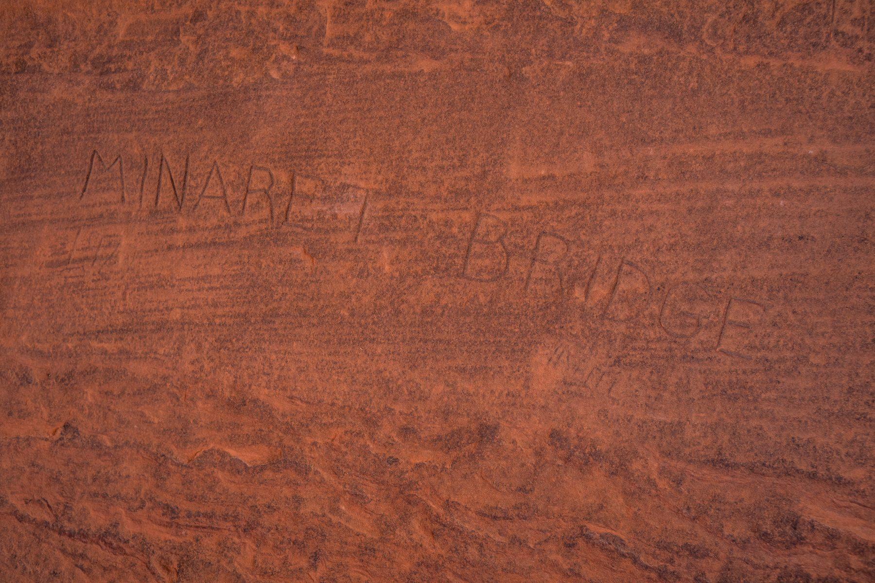 Arches-National-Park-Tower-Arch-Inscription