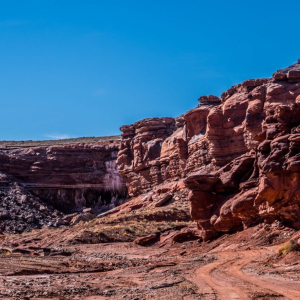 Intrepid Potash Mine Cave in Moab